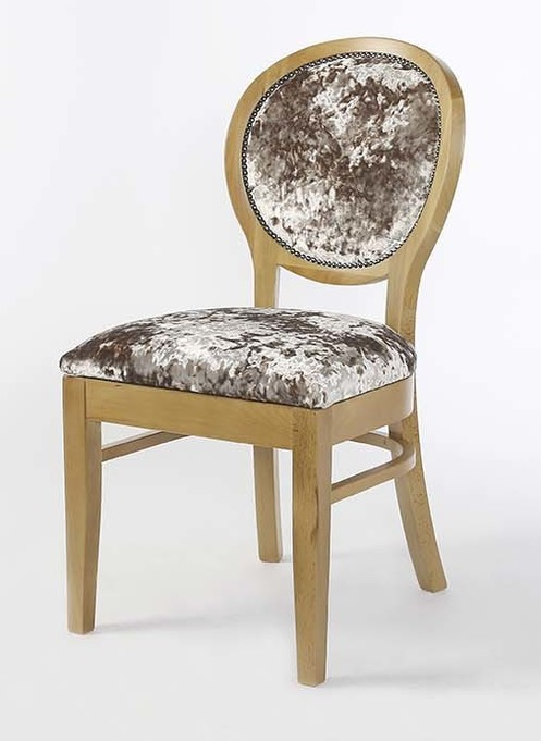 Limoges Side Chair with Studded Detail