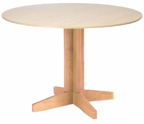 Centre Pedestal Table 1000mm Diameter